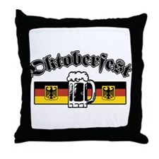 Octoberfest Throw Pillow