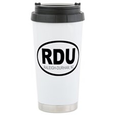 'Raleigh-Durham' Ceramic Travel Mug