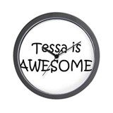 Tessa Wall Clock