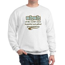 YiaYia of Gifted Grandchildren Sweatshirt
