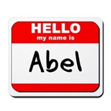 Hello my name is Abel Mousepad