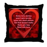 SATC Carrie Love Story Throw Pillow