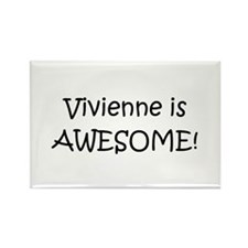 Unique Vivienne Rectangle Magnet (10 pack)