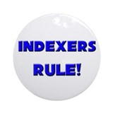 Indexers Rule! Ornament (Round)
