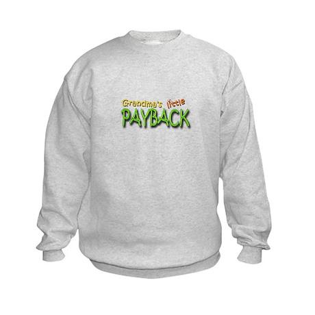 Grandma's Little Payback Kids Sweatshirt