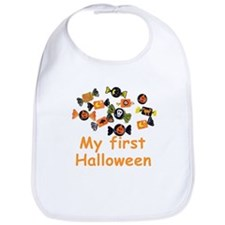 Kids Halloween Candy Bib