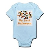 Kids Halloween Candy Infant Creeper