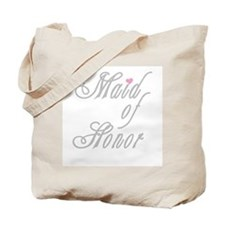Classy Grays Maid of Honor Tote Bag