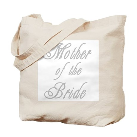 Classy Grays Mother of Bride Tote Bag
