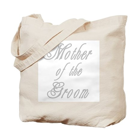 Classy Grays Mother of Groom Tote Bag