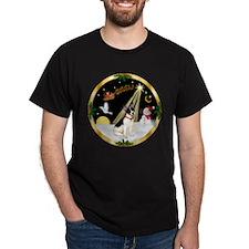 Night Flight/Rat Terrier T-Shirt