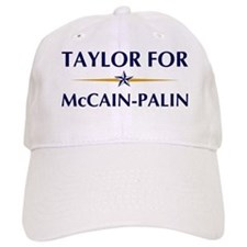 TAYLOR for McCain-Palin Baseball Cap