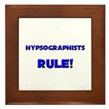 Hypsographists Rule! Framed Tile