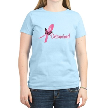 Breast Cancer (Determined) Women's Light T-Shirt