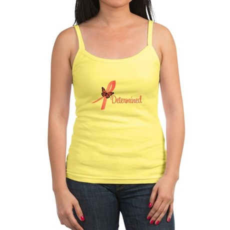 Breast Cancer (Determined) Jr. Spaghetti Tank