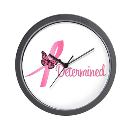 Breast Cancer (Determined) Wall Clock
