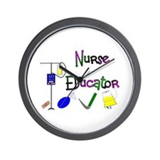 Nurse Educator Wall Clock
