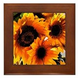 Sunflower Dream Framed Tile