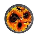 Sunflower Dream Wall Clock