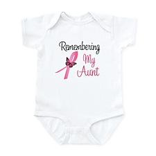 Remembering My Aunt (BC) Infant Bodysuit