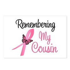 Remembering My Cousin (BC) Postcards (Package of 8
