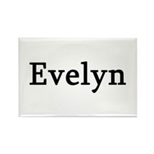 Evelyn - Personalized Rectangle Magnet (10 pack)