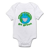 Happy Green Earth Onesie