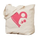 &amp;quot;Breastfeeding is Love&amp;quot; Tote Bag