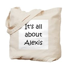 Cute Alexis name Tote Bag