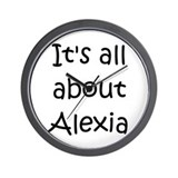 Cool Alexia Wall Clock