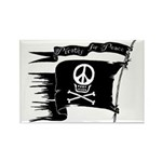 Pirates for Peace Rectangle Magnet