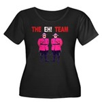The Eh! Team Women's Plus Size Scoop Neck Dark T-S