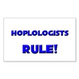 Hoplologists Rule! Rectangle Decal
