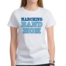 Blue Marching Band Mom Women's T-Shirt