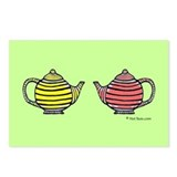Teapots! Postcards (Package of 8)