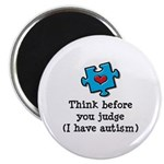 Think Before You Judge Autism Magnet
