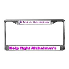 Help Fight Alzheimer's License Plate Frame