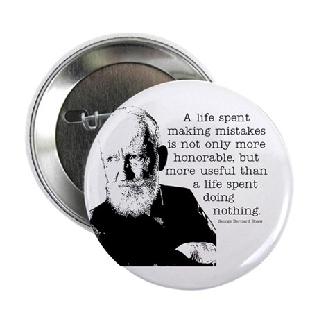 "Shaw Quote 2.25"" Button"