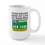 Boston Intelligence Large Mug