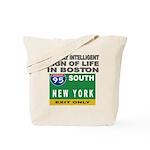 Boston Intelligence Tote Bag