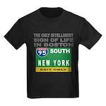 Boston Intelligence Kids Dark T-Shirt