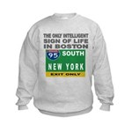 Boston Intelligence Kids Sweatshirt