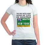 Boston Intelligence Jr. Ringer T-Shirt