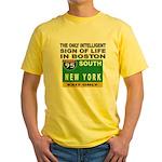 Boston Intelligence Yellow T-Shirt