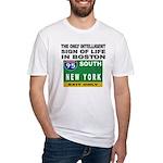 Boston Intelligence Fitted T-Shirt