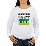 Boston Intelligence Women's Long Sleeve T-Shirt