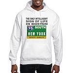 Boston Intelligence Hooded Sweatshirt