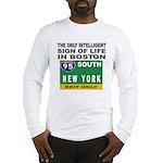Boston Intelligence Long Sleeve T-Shirt