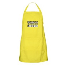 """My Daughter...Ecologist"" BBQ Apron"