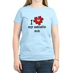 I Love My Autistic Son Women's Light T-Shirt